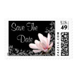 Save The Date Magnolia Wedding Stamps