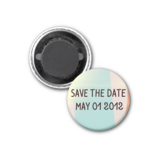 Save the Date May 1 2012  Magnet