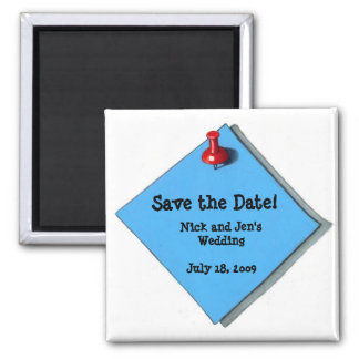 SAVE THE DATE MEMO MAGNET