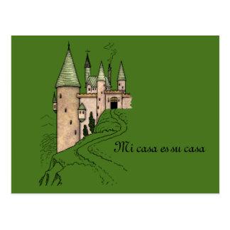 Save the Date Mi Casa Es Su Casa Postcard