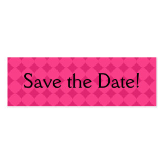 Save the Date! Mini Business Card