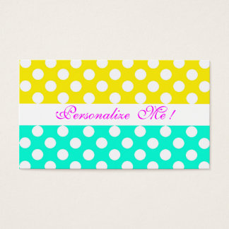 Save the Date Mint Pastels Modern Girly Bride Fun Business Card