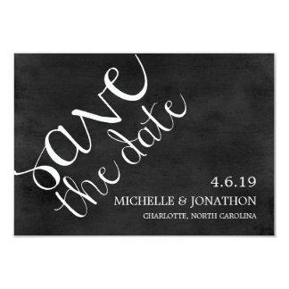 Save The Date | Mod Pen Chalkboard Card