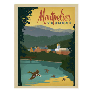 Save the Date - Montpelier, VT Postcard