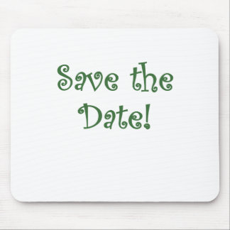 Save the Date Mouse Pad