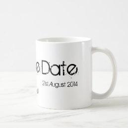 Save The Date Mug
