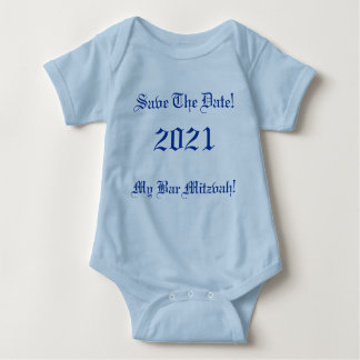 Save The Date!, My Bar Mitzvah!, 2021 T Shirt