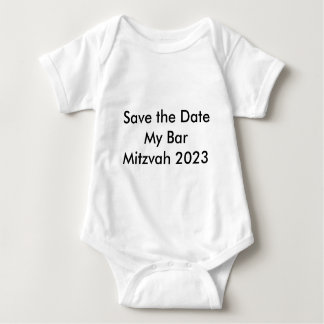 Save the Date My Bar Mitzvah 2023 T Shirt