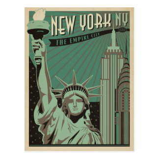 Save the Date | New York - The Empire City Postcard