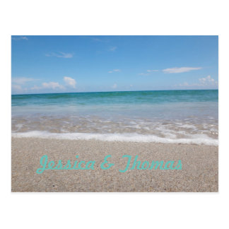 Save the Date | Ocean | Postcard Announcement Card