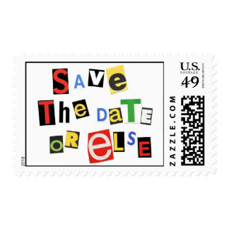Save the Date - or else Stamps