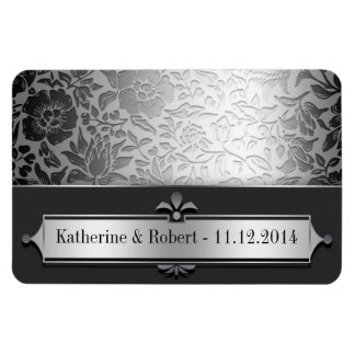 save the date or engagement beautiful magnets