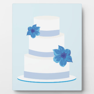 Save the Date or Wedding Cake Print Plaque