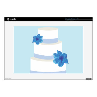 """Save the Date or Wedding Cake Print Skins For 15"""" Laptops"""