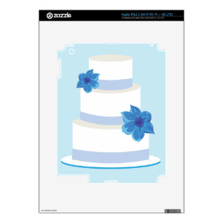 Save the Date or Wedding Cake Print Skins For iPad 3