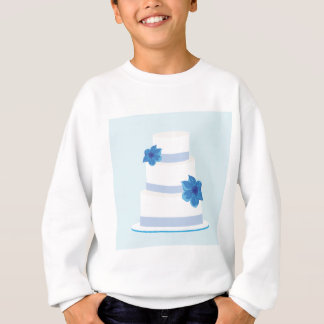 Save the Date or Wedding Cake Print Sweatshirt