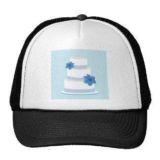 Save the Date or Wedding Cake Print Trucker Hat