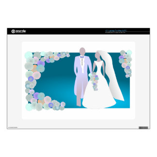 Save the Date or Wedding Print Laptop Skins