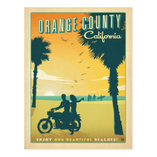 Save the Date | Orange County, CA Postcard