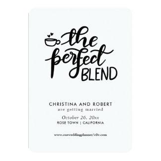 Save The Date | Perfect Blend Handwritten Script Card