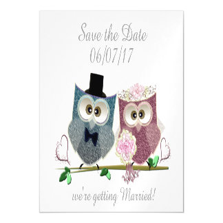Save the Date, Personalise Wedding Magnetic Card