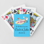 Save the Date Personalized Playing Cards