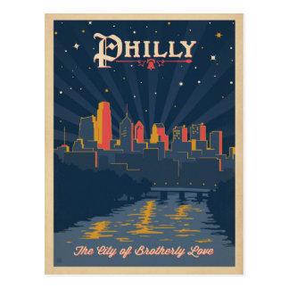 Save the Date   Philadelphia, PA Postcard