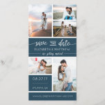 """Save The Date Photo Announcement, Editable Color<br><div class=""""desc"""">Let family and friends know you&#39;re getting married with this photo-filled save-the-date card! The accent color is editable.</div>"""