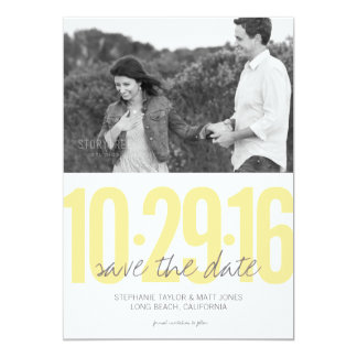 Save the date photo card, wedding collection card