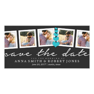 Save the Date Photo Collage Annoucements| WEDDINGS Card