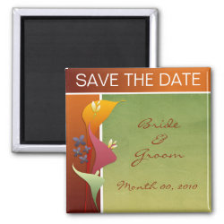 Save the Date photo magnets magnet