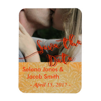 Save the Date Photo Template Cards Announcements Magnet