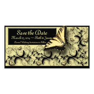 Save the Date photocard Card