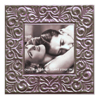 Save the Date Picture Frame Template