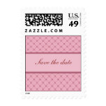 Save the date - Pink Design Postage