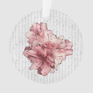 Save the Date Pink Flower Keepsake Customize It