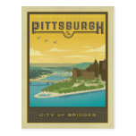 Save the Date | Pittsburgh, PA - City of Bridges Postcard