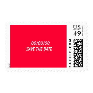SAVE THE DATE Posage Postage Stamp