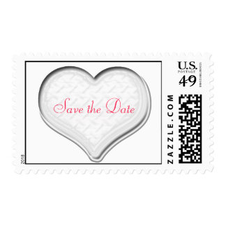 SAVE THE DATE POSTAGE STAMP