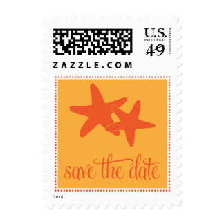 Save the Date Postage with Starfish
