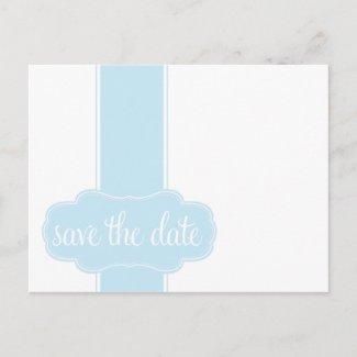 Save the Date Postcard postcard
