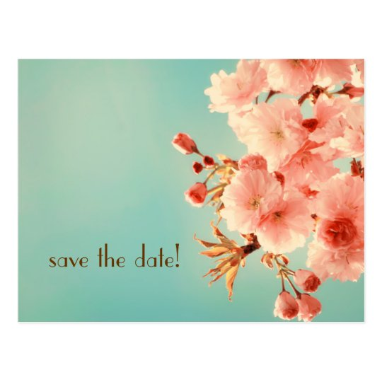 """save the date!"" Postcard"