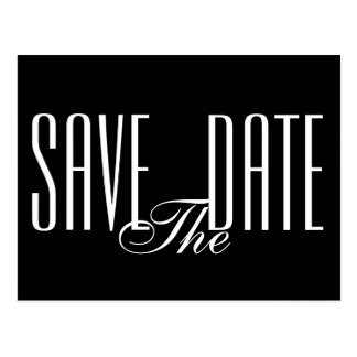 Save the Date Postcard Invitation