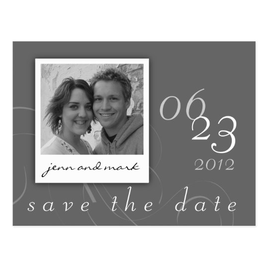 Save the Date Postcard Photo 04