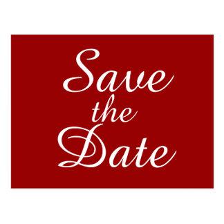 Save the Date - Postcard - Sharon Rhea