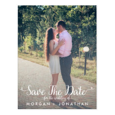 Save The Date Postcard Template at Zazzle
