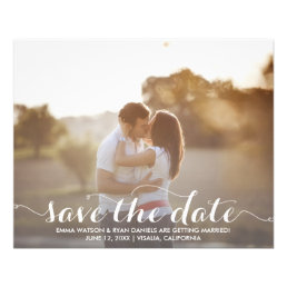 Save The Date Postcard Template Flyer