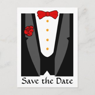 Save the Date postcards postcard