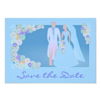 Save the Date Pre-Wedding Invitation