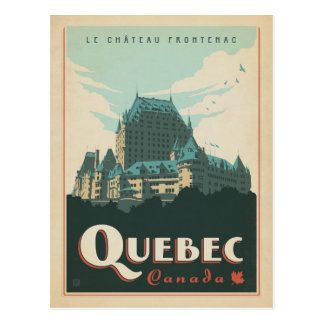 Save the Date | Quebec, Canada Postcard